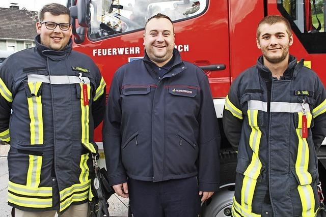 Die ersten Schritte in Richtung des Traumberufs Feuerwehrmann