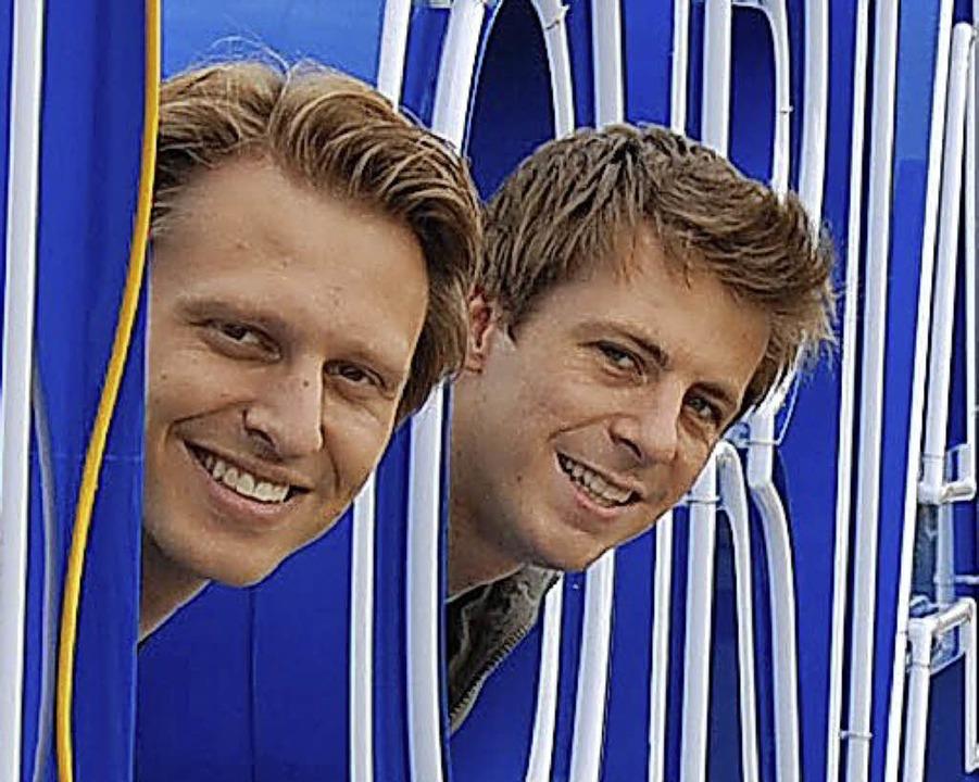Alexander Dieterle (links) und Jochen Frank Schmidt  | Foto: Privat