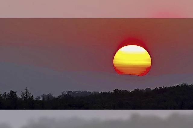 Heute bleibt die Sonne lange wach
