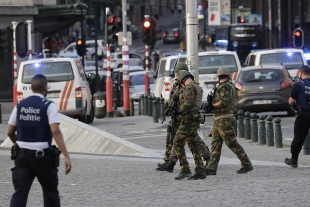 Explosion in Brüsseler Bahnhof – Verdächtiger