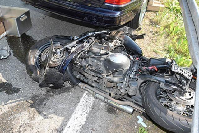 Wieder stirbt ein Motorradfahrer bei einer Kollision bei Friedenweiler