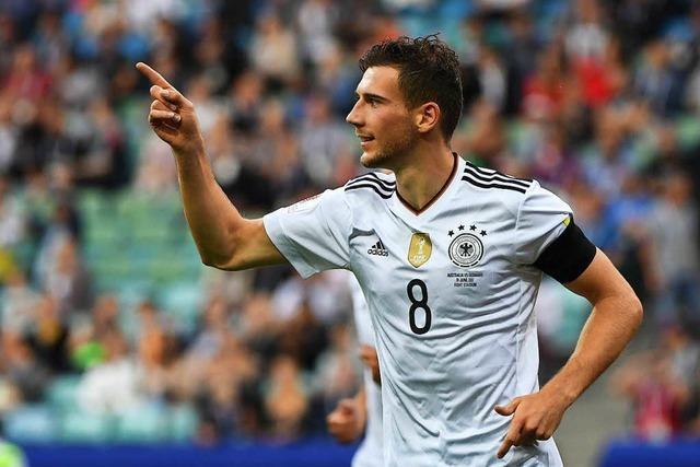 Schalker Leon Goretzka drängt sich in den Vordergrund