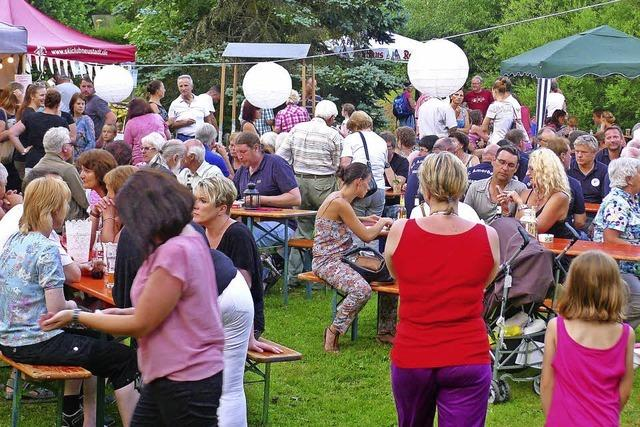 Musik von Neustadt West, Tanzauftritte, Feuerwerk in Titisee-Neustadt