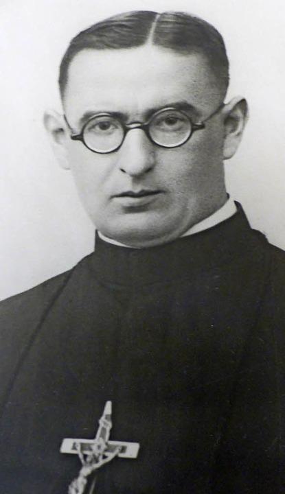 Pater August Hättig ist 1942 ermordet worden.  | Foto: Repro: Alfons Vögele
