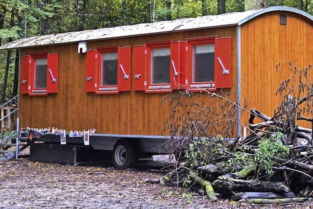 Neuer Wagen für Waldkindergarten