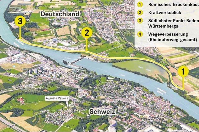 Gemeinde will Rheinuferrundweg aufwerten