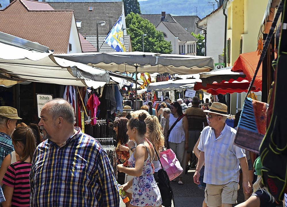 So sah es auf dem 249. Johannimarkt aus.    Foto: Ralf H. Dorweiler
