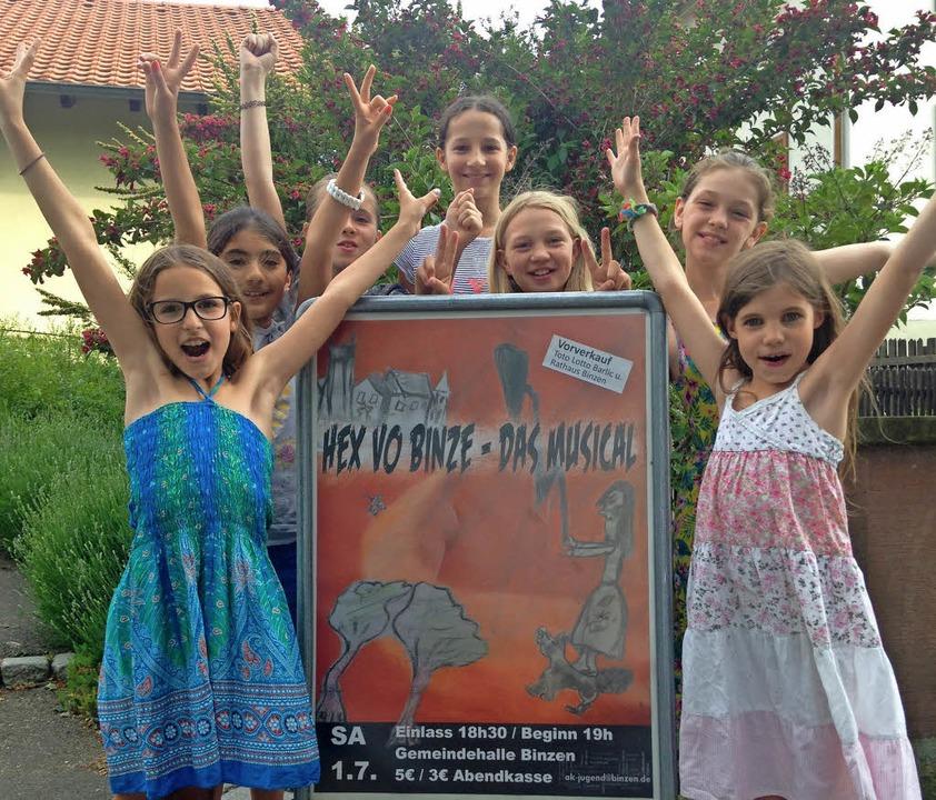 Freuen sich  auf ihr Musical: junge Binzener Schauspieler  | Foto: privat