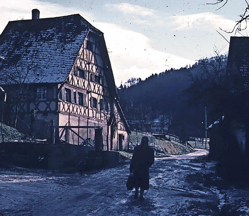Birgit Schüler hat der Redaktion histo...shof an der Wende zum 20. Jahrhundert.    Foto: Silvester Franz