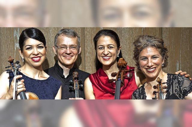 Das Stuttgarter Hegel-Quartett konzertiert in der Merdinger Zehntscheuer