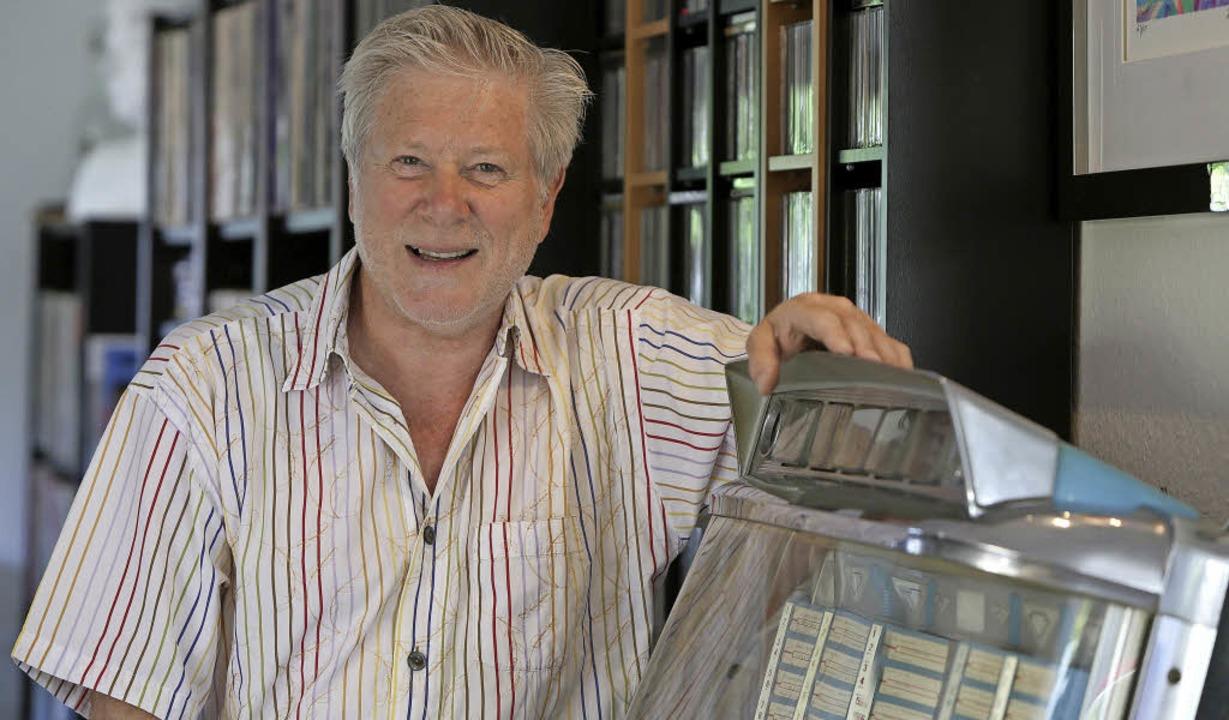 Er könnte leicht auch die Musicbox neb... Jess Haberer wird 70. Happy Birthday!  | Foto: Breithaupt