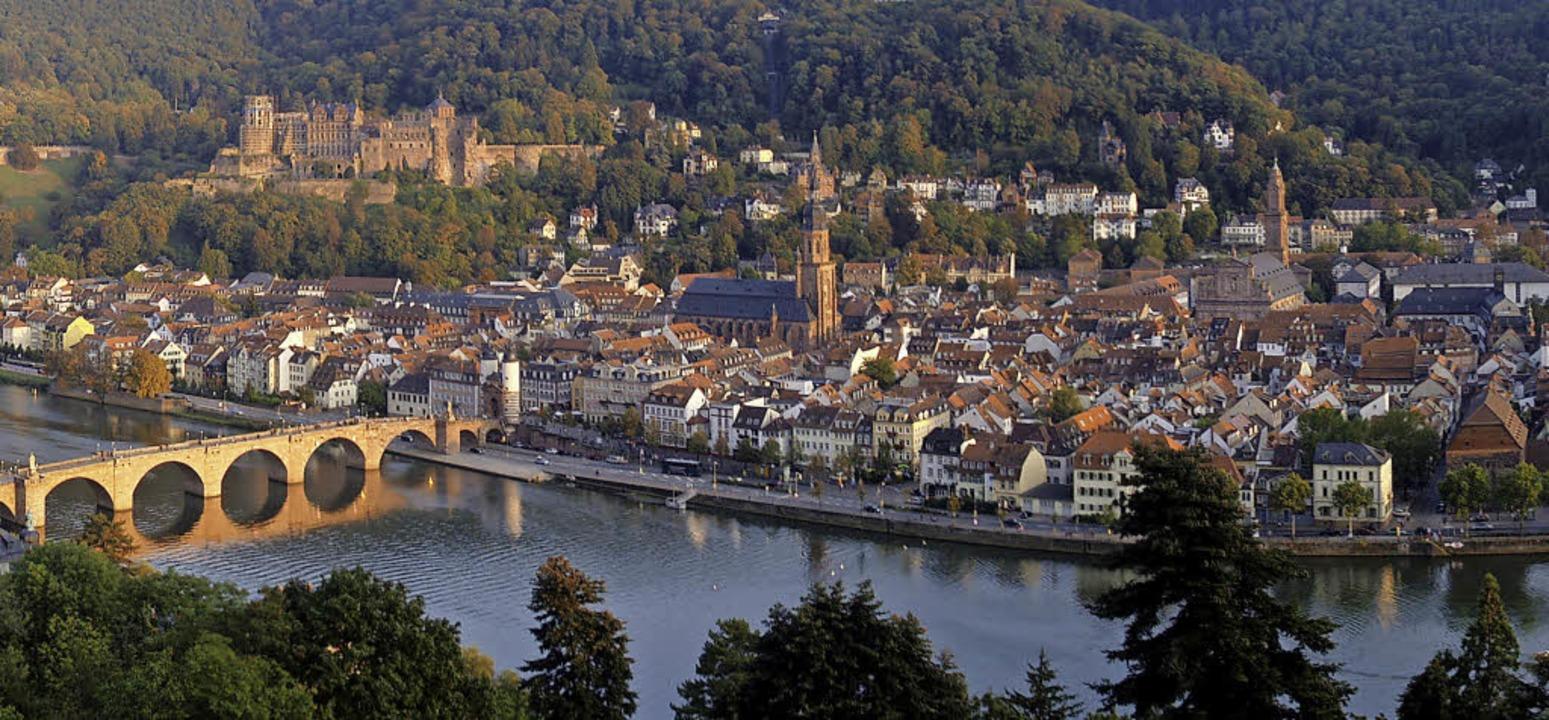 Ausblick auf Heidelberg     Foto: Heidelberg Marketing GmbH, A. Caplar