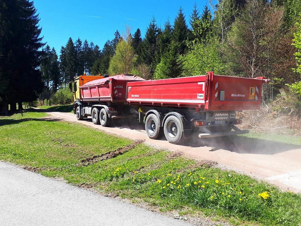 Es geht um einen ca. 170 Meter langen Waldweg, der der Stadt Schopfheim gehört.  | Foto: Privat