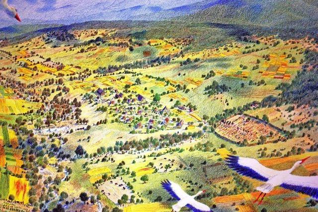 Forscher zeichnen Bild vom frühmittelalterlichen Leben in der Siedlung Schleitheim