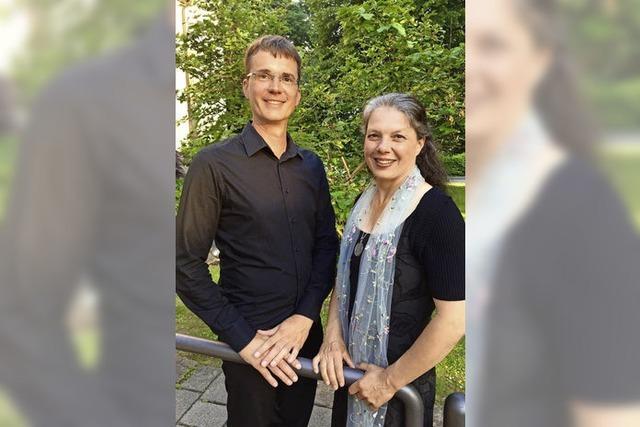Kerstin Bögner und Wolfgang Thimm in Endingen