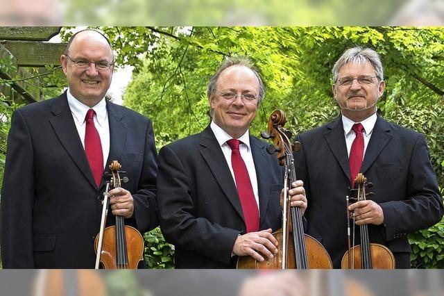 Offenburger Steichtrio Fantasia Concertante von Carl Czerny im alten Kapuzinrkloster