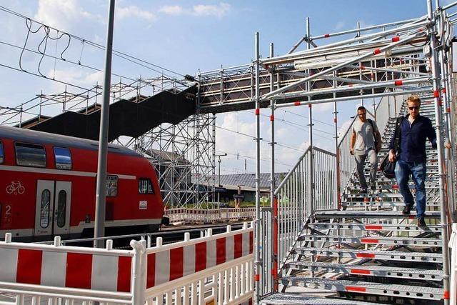 Ein-Euro-Jobber sollen über Behelfsbrücke helfen
