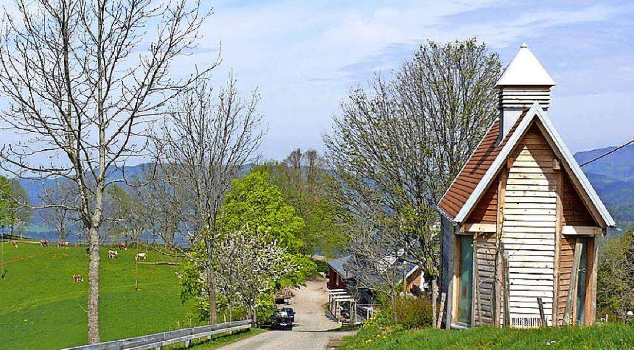 Johannes ist die kleine Kapelle am Hofgut Rössle geweiht.   | Foto: Privat