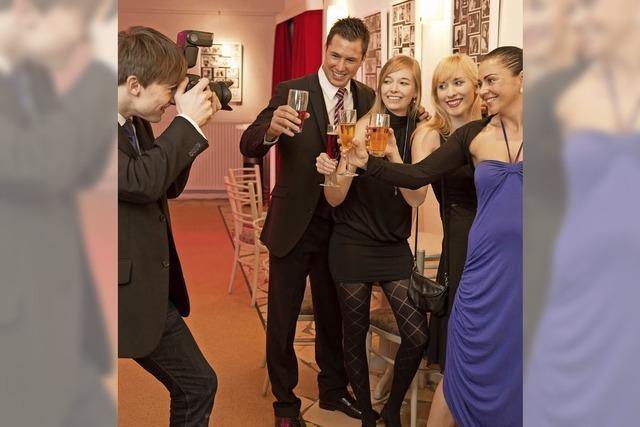 Partyfotos: Persönlichkeitsrecht wird dem Showeffekt geopfert