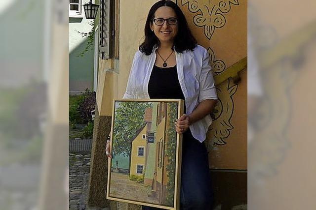 23 Malschüler von Elena Romanzin zeigen 60 Werke