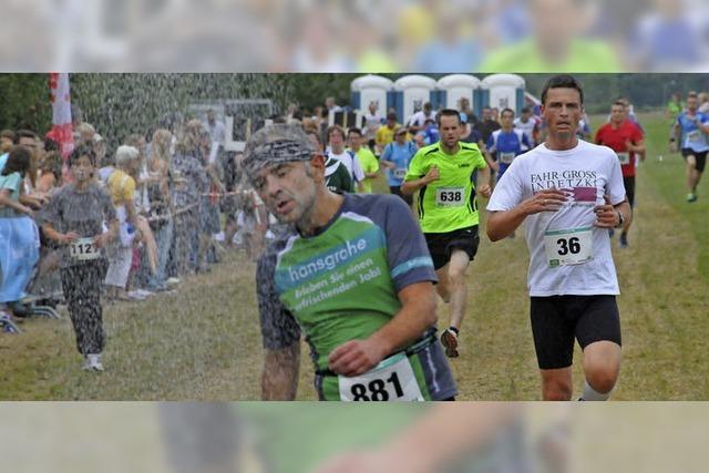 Hoch-drei-Lauf wird wieder zum Hitze-Rennen
