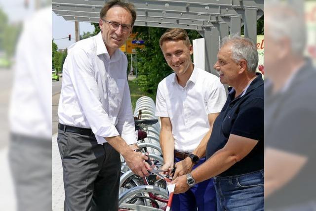 Mehr Stellplätze für Fahrräder