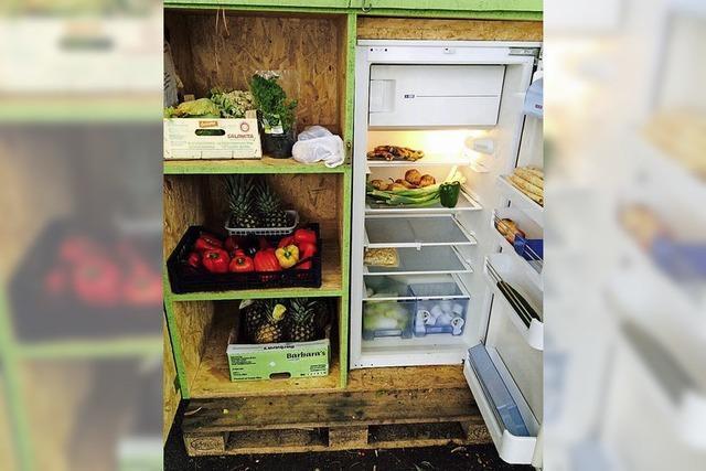 Essen teilen gegen die Verschwendung
