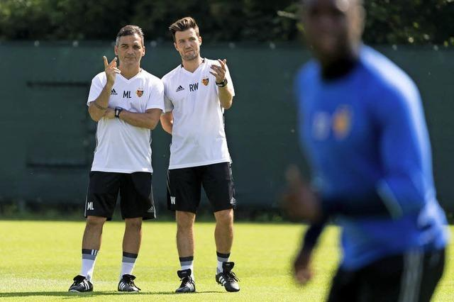 Aufgalopp beim FC Basel mit dem neuen Trainerduo