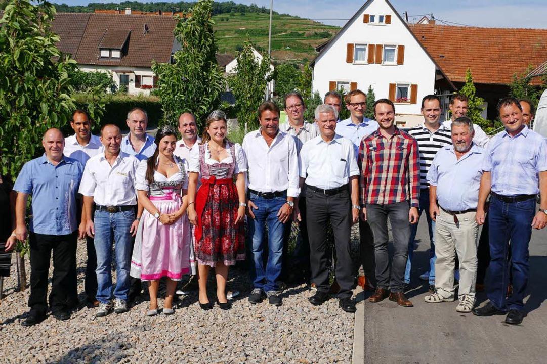Aus dem Kaiserstuhl konnten sich in di...rnationalen Grauburgunderpreis freuen.  | Foto: Agnes Pohrt