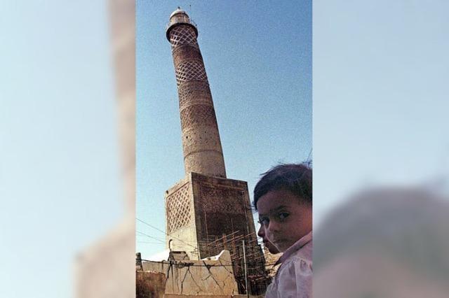 Der IS sprengt 800 Jahre alte Moschee