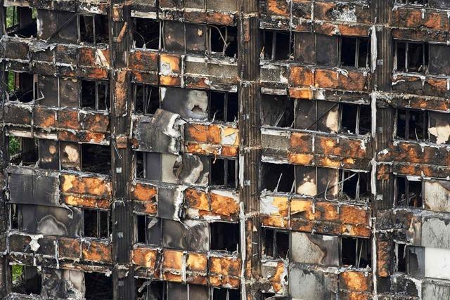 Defekter Kühlschrank war Ursache für Londoner Hochhausbrand
