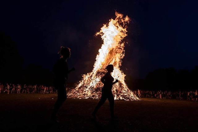 Landratsamt warnt vor Waldbrandgefahr bei Sonnwendfeuern