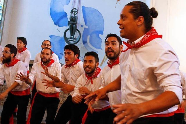 Im Gespräch mit Sängern aus Costa Rica
