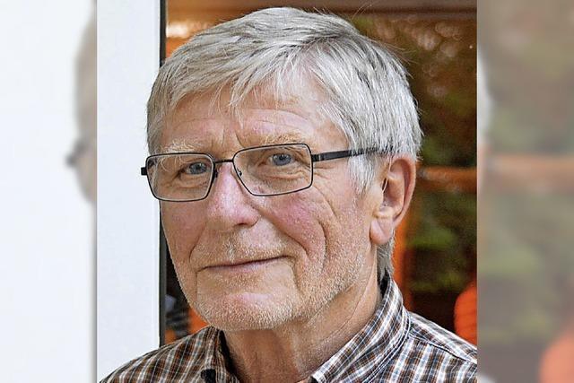 Lothar Wihan leitet den SPD-Ortsverein in Karsau