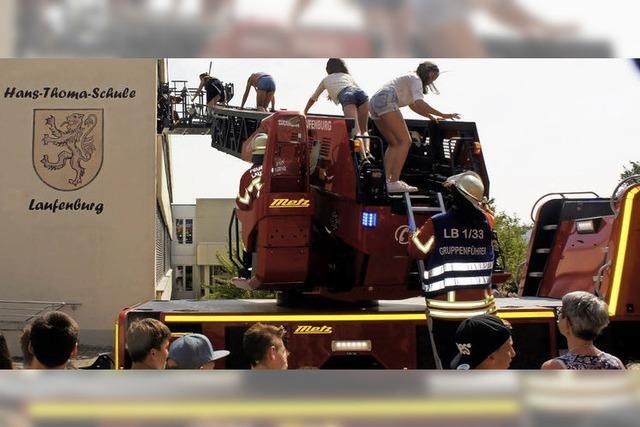 Note eins für Feuerwehr