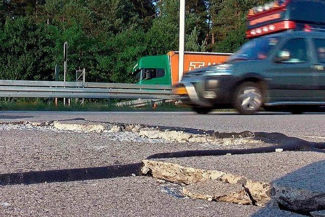 Hitzeschäden auf Autobahnen – schwer zu verhindern