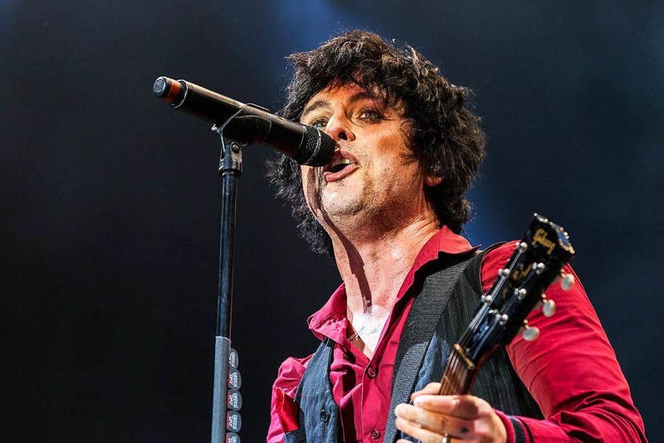 Green Day auf der Green Stage (Foto: Carlotta Huber)