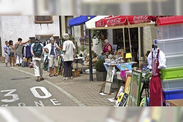Dorfflohmarkt in Lipburg