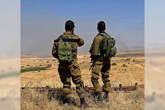 Israels diskrete Kontakte zu Anti-Assad-Rebellen