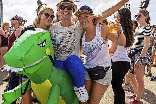 So feiern die Fans beim Southside-Festival