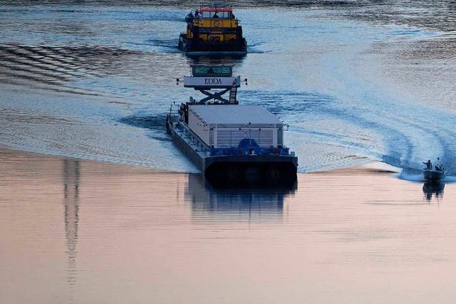 Fragen und Antworten: Castor-Transport auf dem Neckar