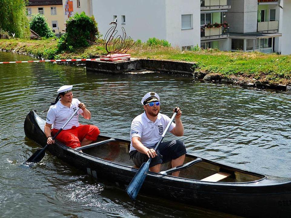 Fahrt mit dem Kanu  | Foto: Paul Berger