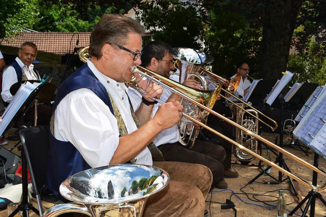 Die Band Heilig's Blechle  | Foto: Paul Berger