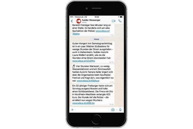 Hol Dir fudders Freiburg-Messenger für WhatsApp