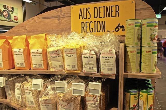 Vielfältige Genusswelten im neuen Rewe-Markt