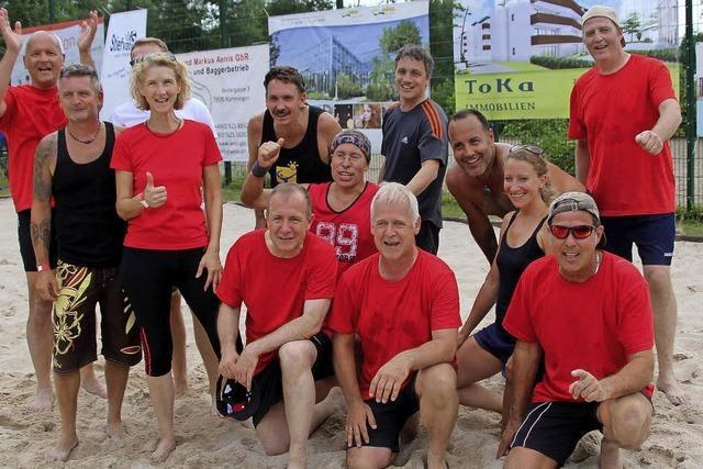 Sportliches Highlight im Sand und großes Programm für die Kleinen