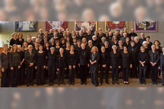 Johannes-Kantorie Merzhausen singt zu ihrem 50-Jährigen Jubiliäum
