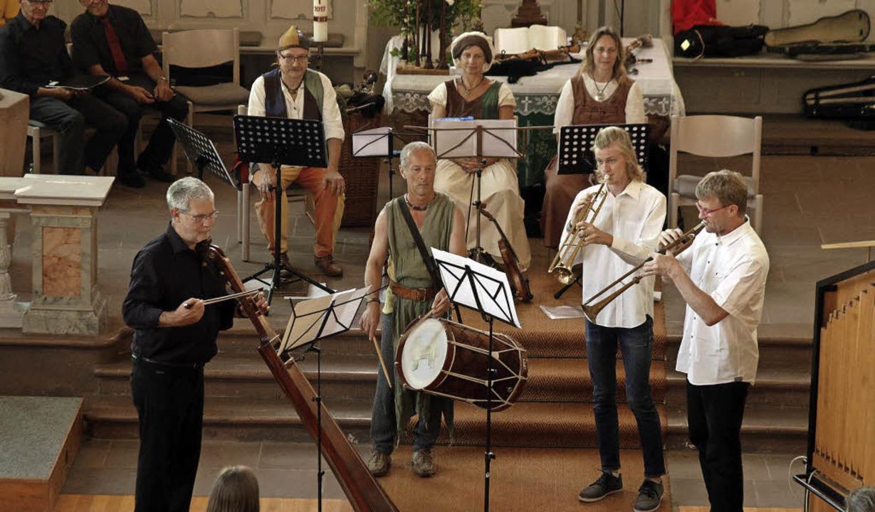 Bach trifft Mittelalter und Reformation: die  Ortenauer Gruppe Ridewanz   | Foto: Heidi Fössel