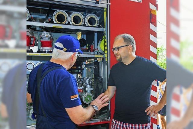 Erfolgreiche Werbeaktion: zwei Neue für die Feuerwehr