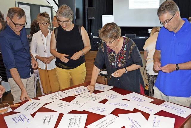 Erste Projekte werden im Zukunftsforum Lörrach konkret